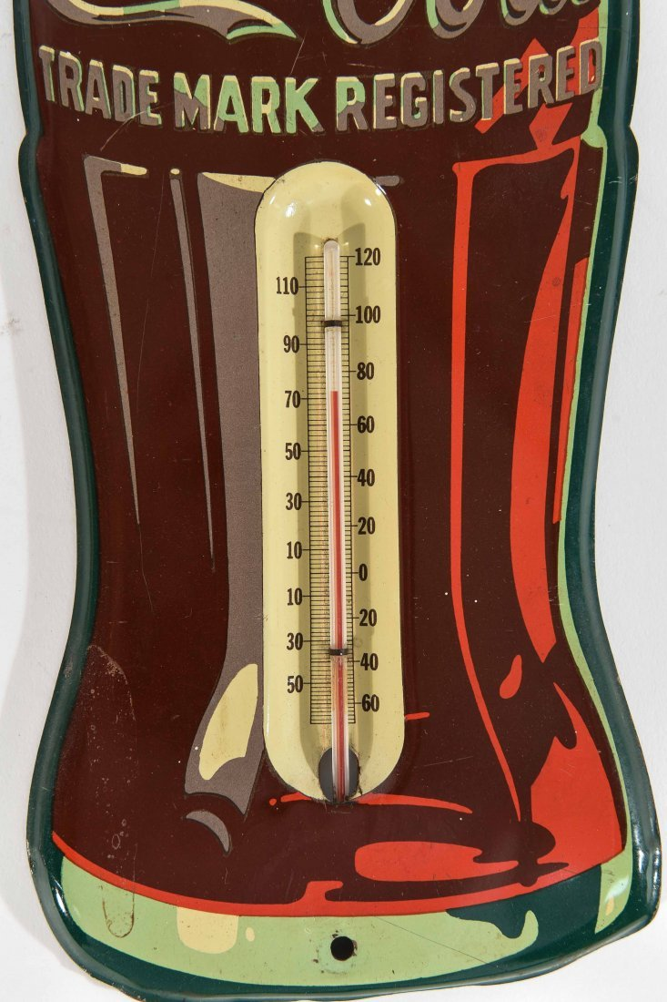 VINTAGE CAMEL AND COCA COLA THERMOMETERS - 2