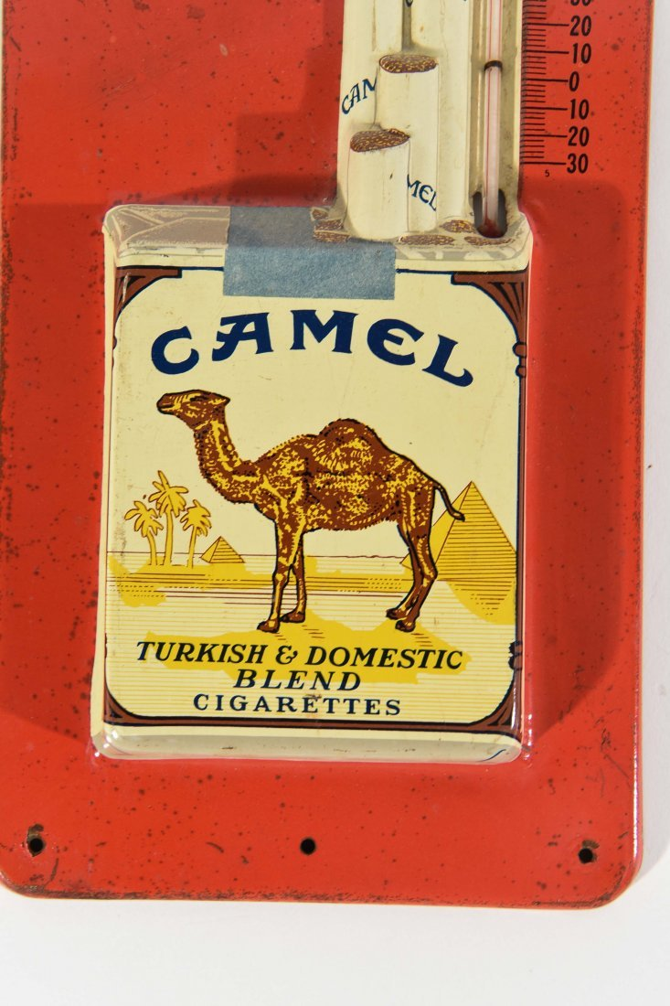 VINTAGE CAMEL AND COCA COLA THERMOMETERS - 5