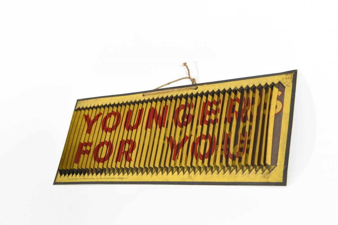 THREE WAY YOUNGER ALE SIGN - 2