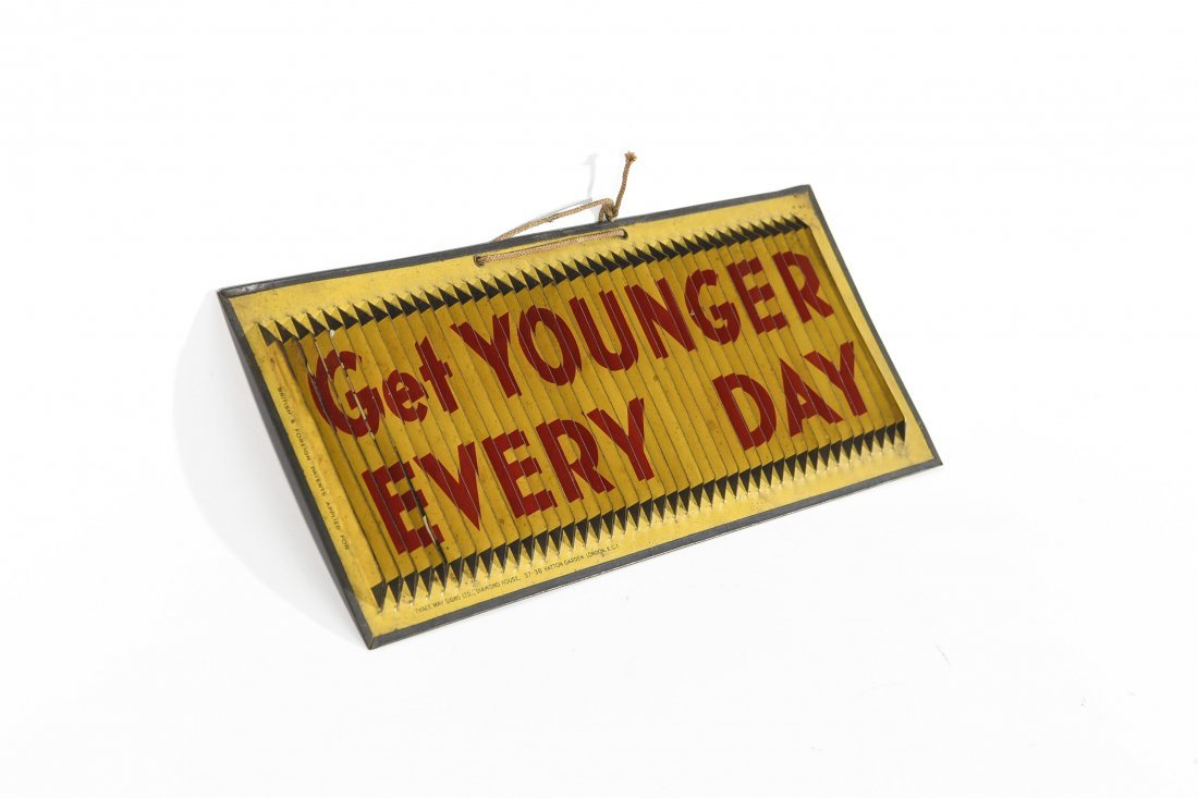 THREE WAY YOUNGER ALE SIGN - 3