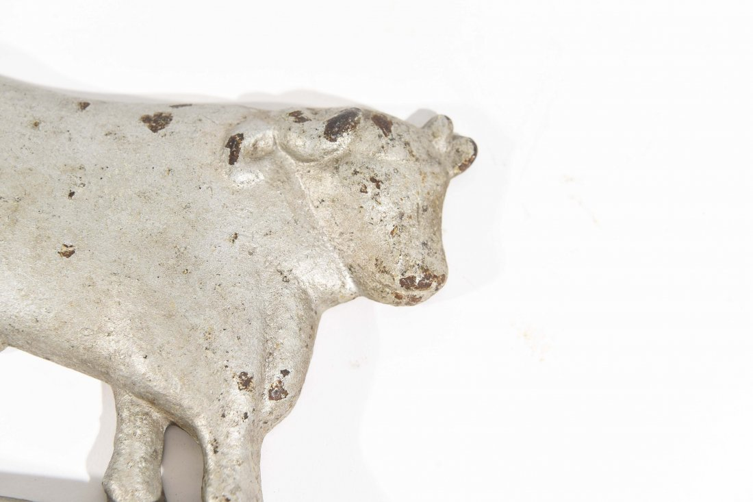 CAST IRON COW AND BULL - 6