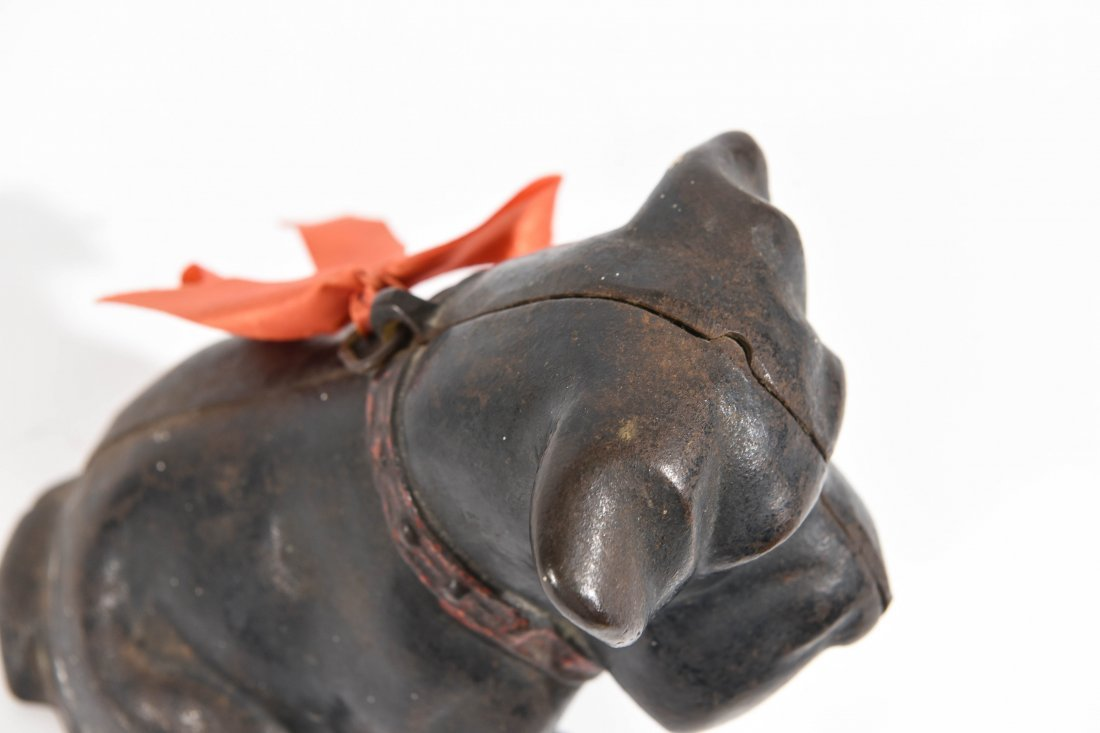 CAST IRON DOG DOORSTOP - 6
