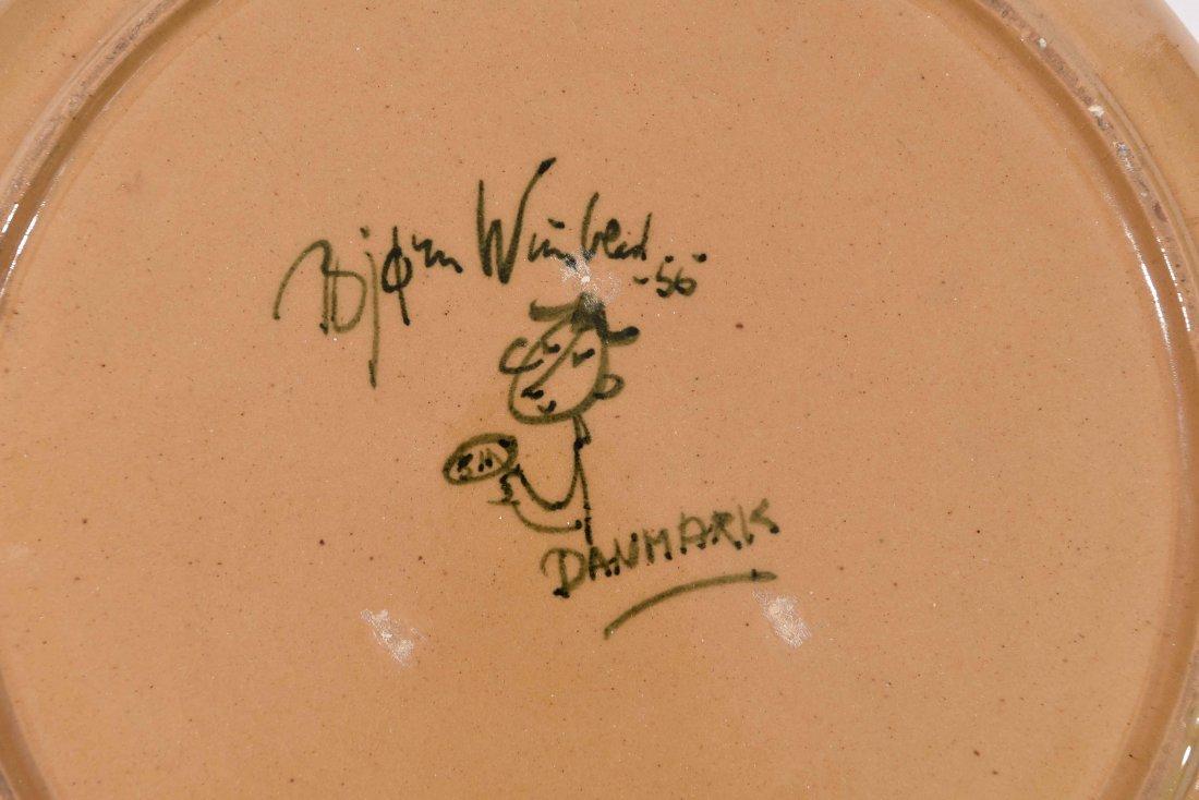 BJORN WIINBLAD CERAMIC PLATTER - 6