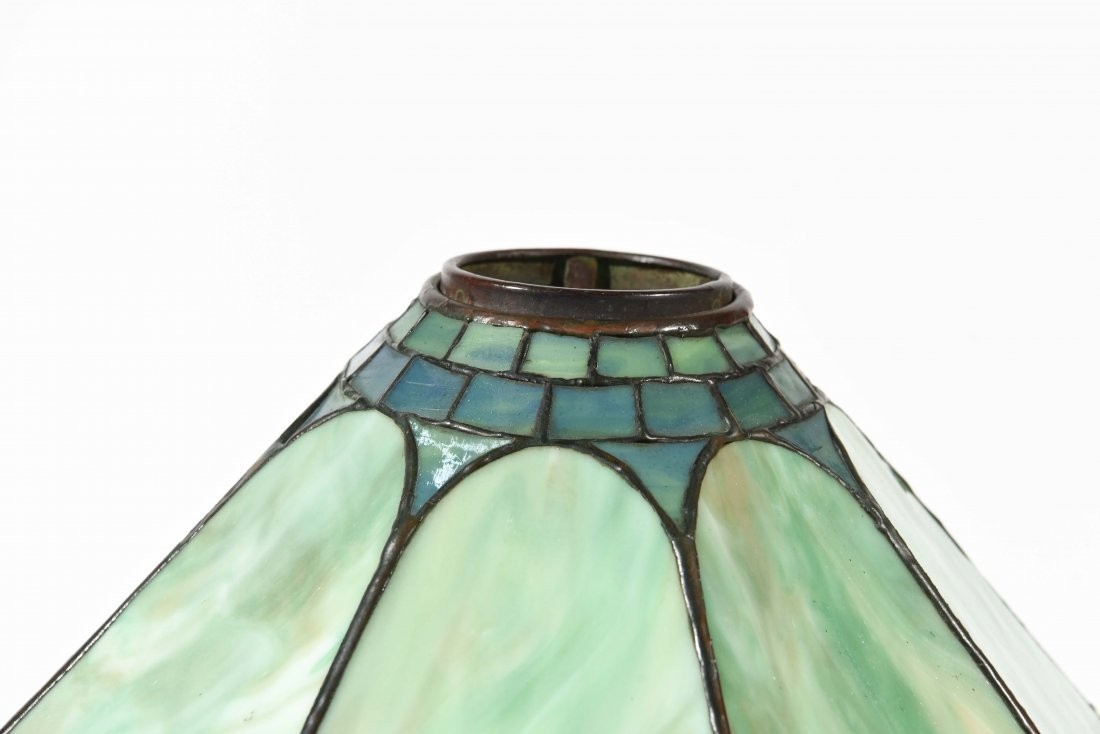STAINED GLASS PANEL LAMP - 2