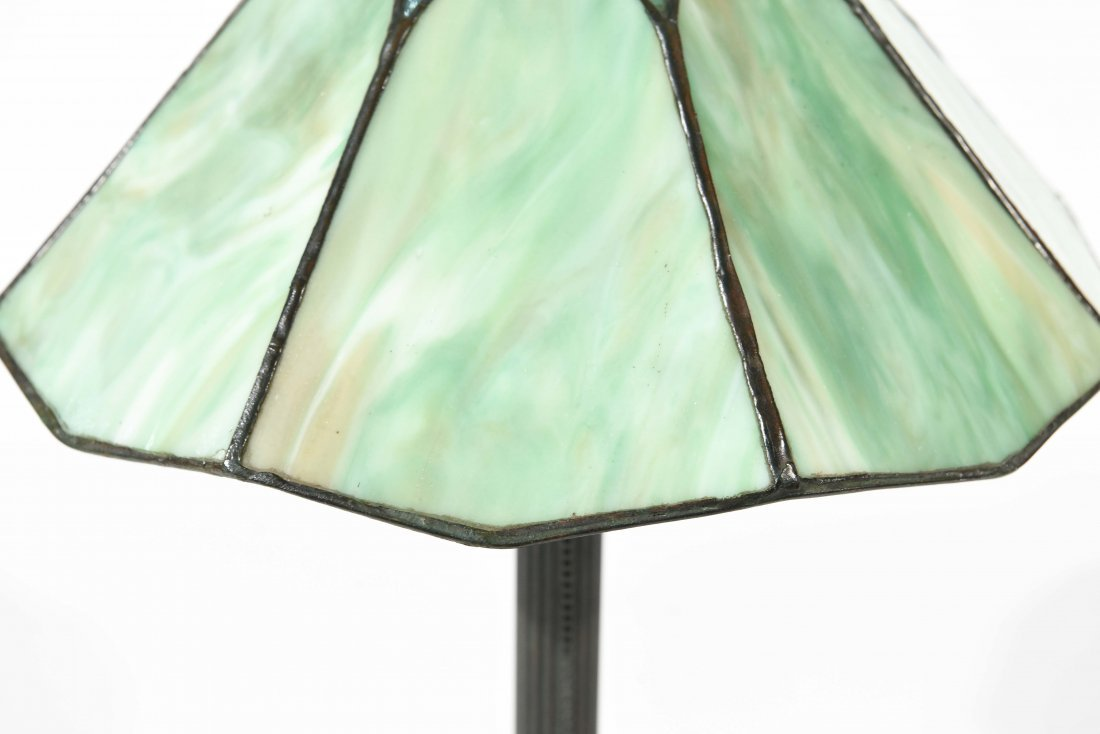 STAINED GLASS PANEL LAMP - 3
