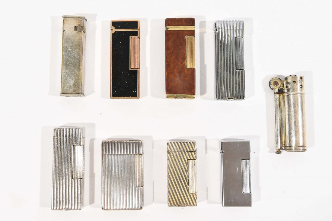 (9) DUNHILL LIGHTERS