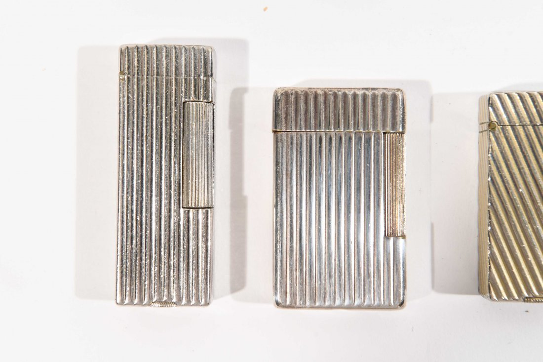 (9) DUNHILL LIGHTERS - 2