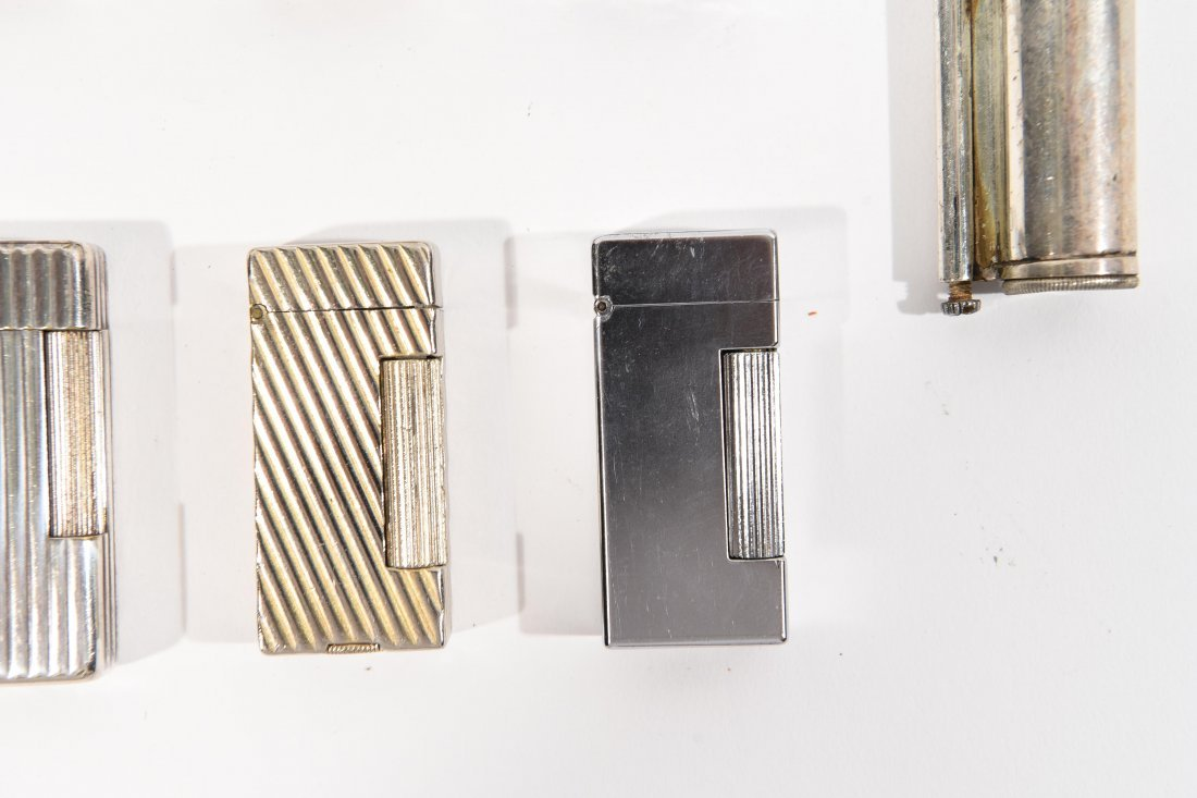 (9) DUNHILL LIGHTERS - 3