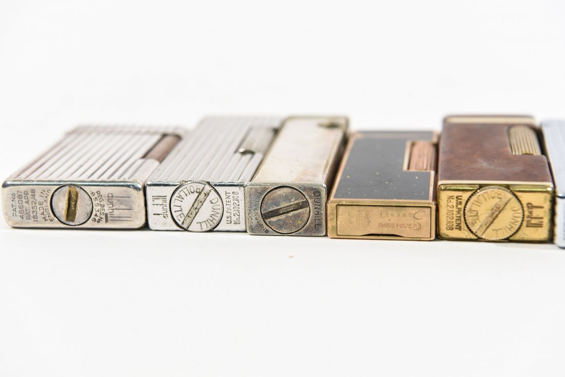 (9) DUNHILL LIGHTERS - 8