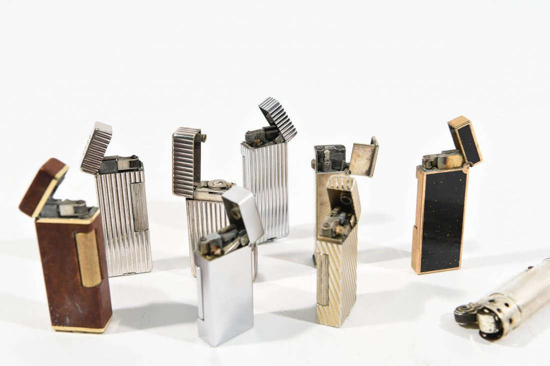 (9) DUNHILL LIGHTERS - 9