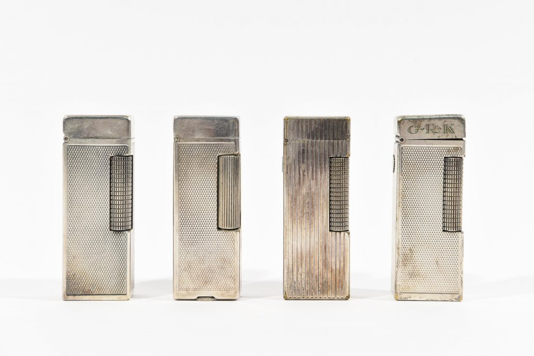 (4) DUNHILL LIGHTERS