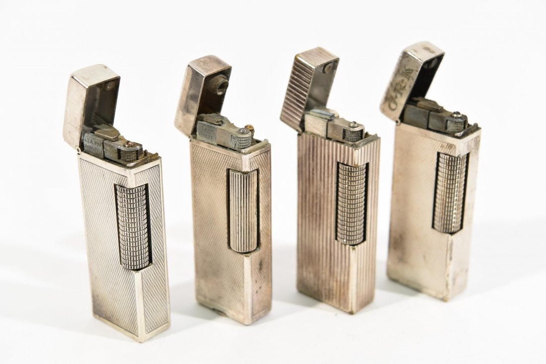 (4) DUNHILL LIGHTERS - 3