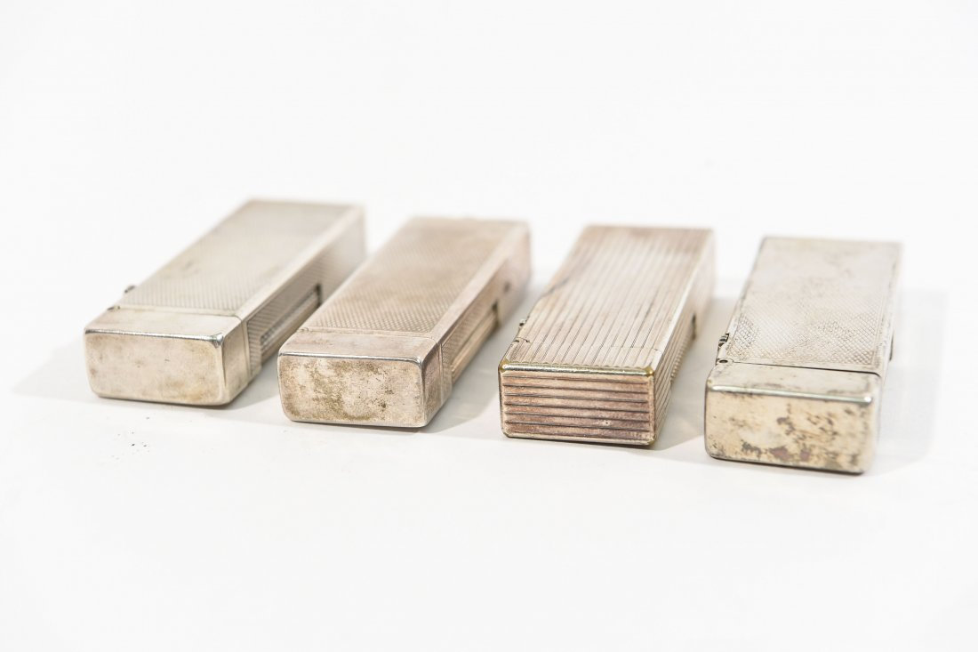 (4) DUNHILL LIGHTERS - 5