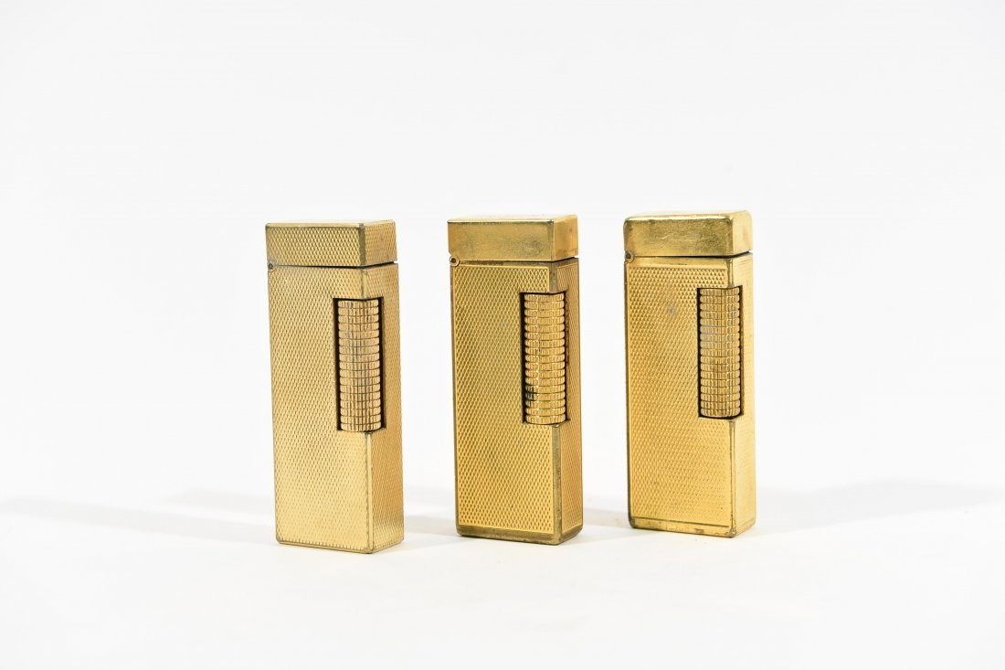 (3) DUNHILL LIGHTERS - 2