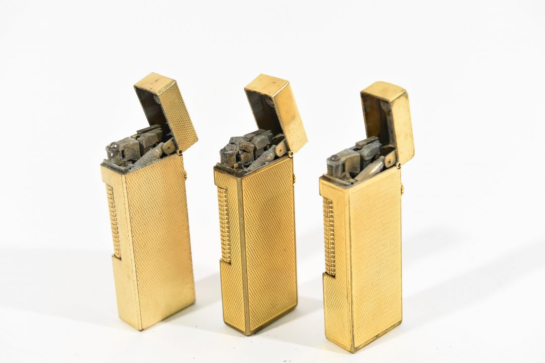 (3) DUNHILL LIGHTERS - 4