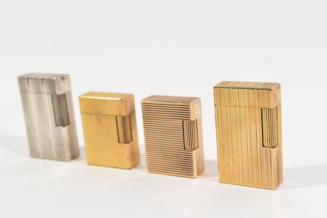 (4) DUPONT LIGHTERS - 2