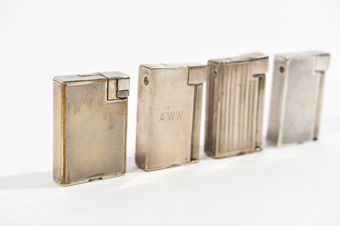 (4) DUNHILL LIGHTERS - 2