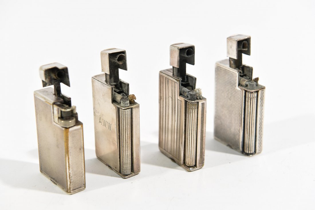 (4) DUNHILL LIGHTERS - 4