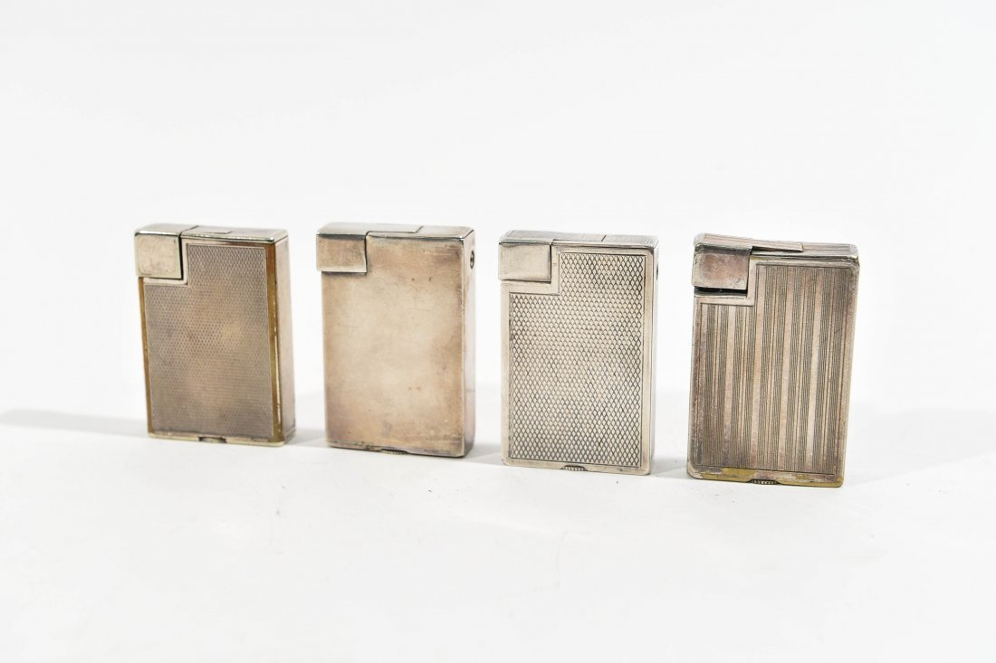 (4) DUNHILL LIGHTERS - 6