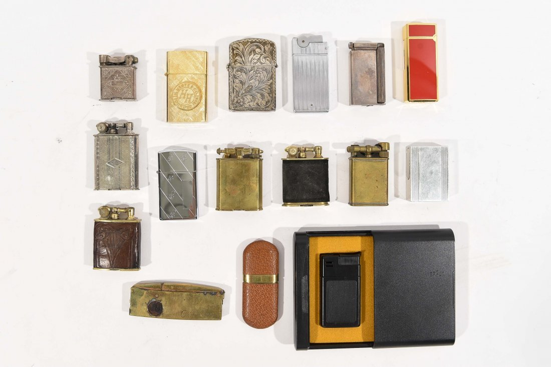 (16) GROUPING OF VINTAGE LIGHTERS