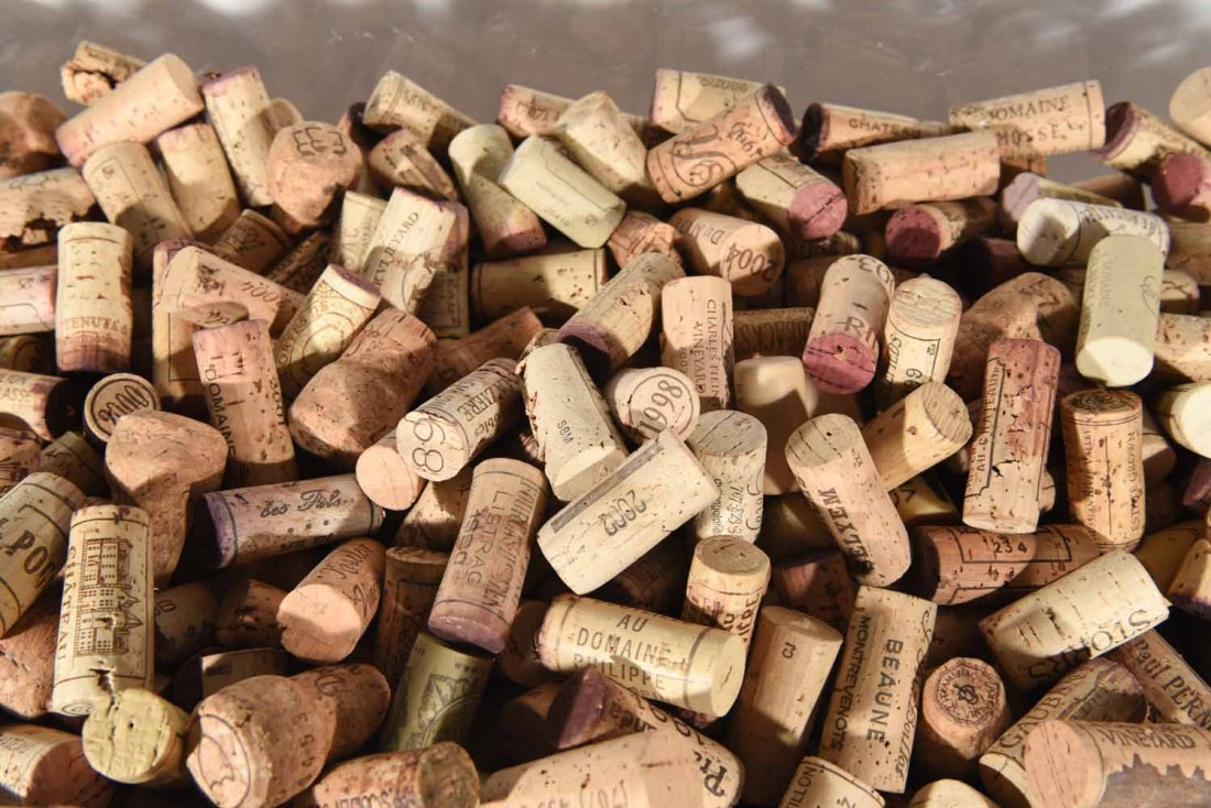 GROUPING OF WINE CORKS - 3