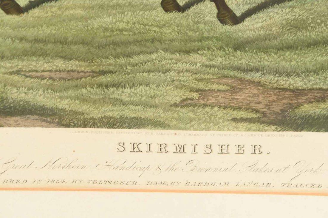 SKIRMISHER HORSE PRINT C.1850'S - 4