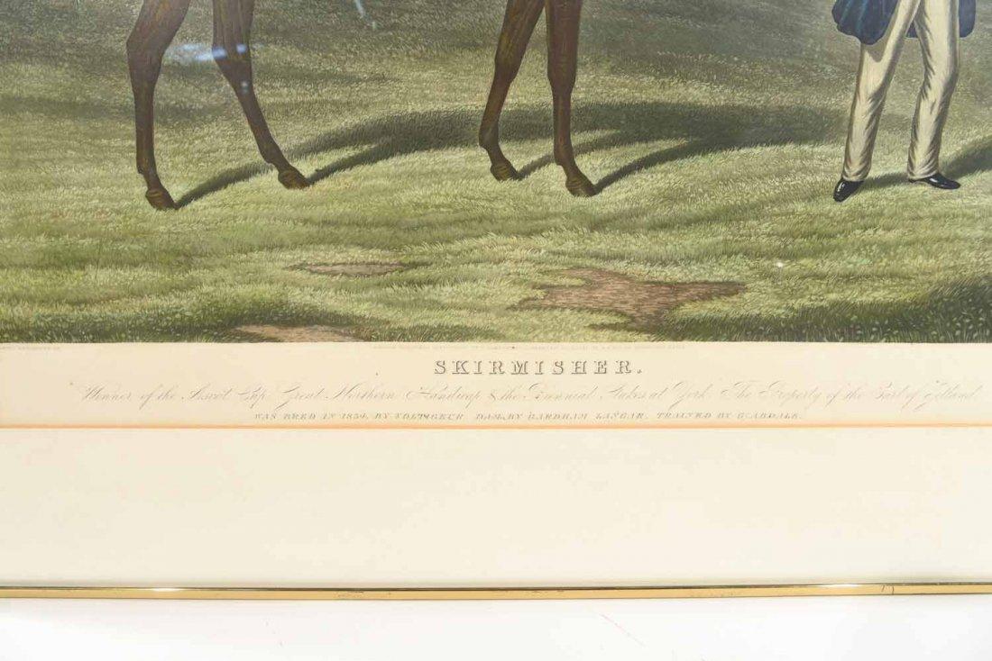 SKIRMISHER HORSE PRINT C.1850'S - 8