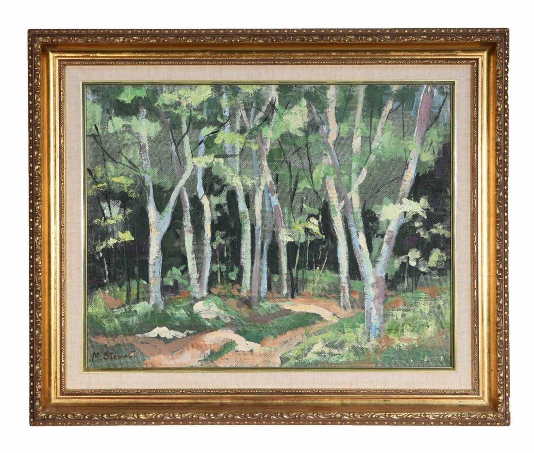M STEWART 20TH CENTURY ARTIST
