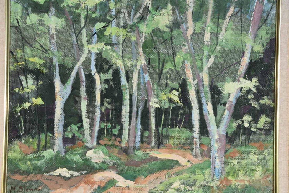 M STEWART 20TH CENTURY ARTIST - 2