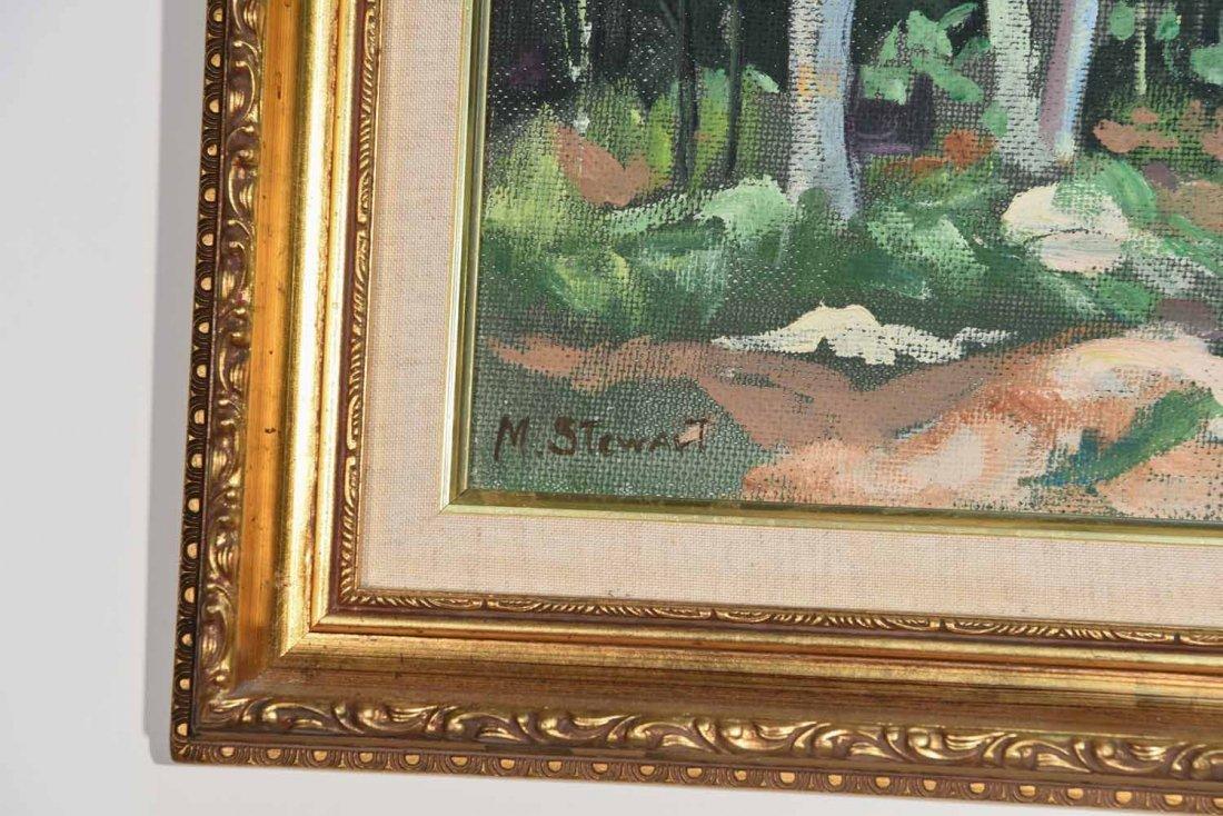 M STEWART 20TH CENTURY ARTIST - 3