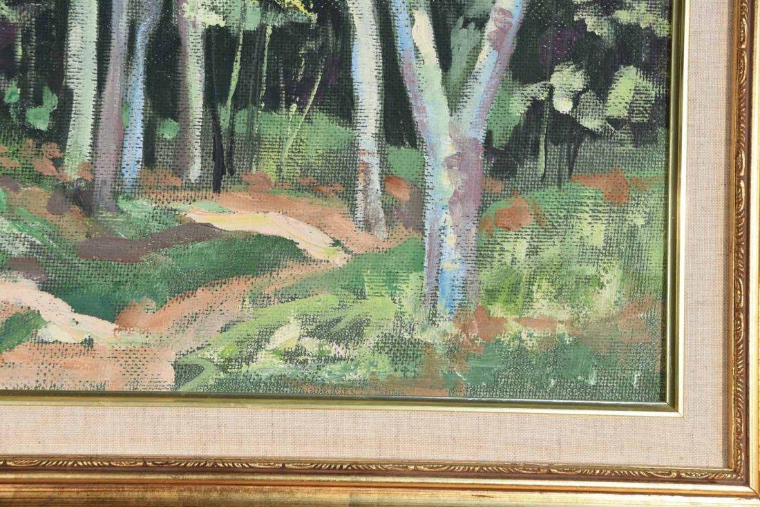 M STEWART 20TH CENTURY ARTIST - 4
