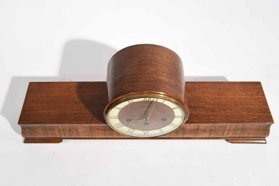ART DECO MANTLE CLOCK - 6