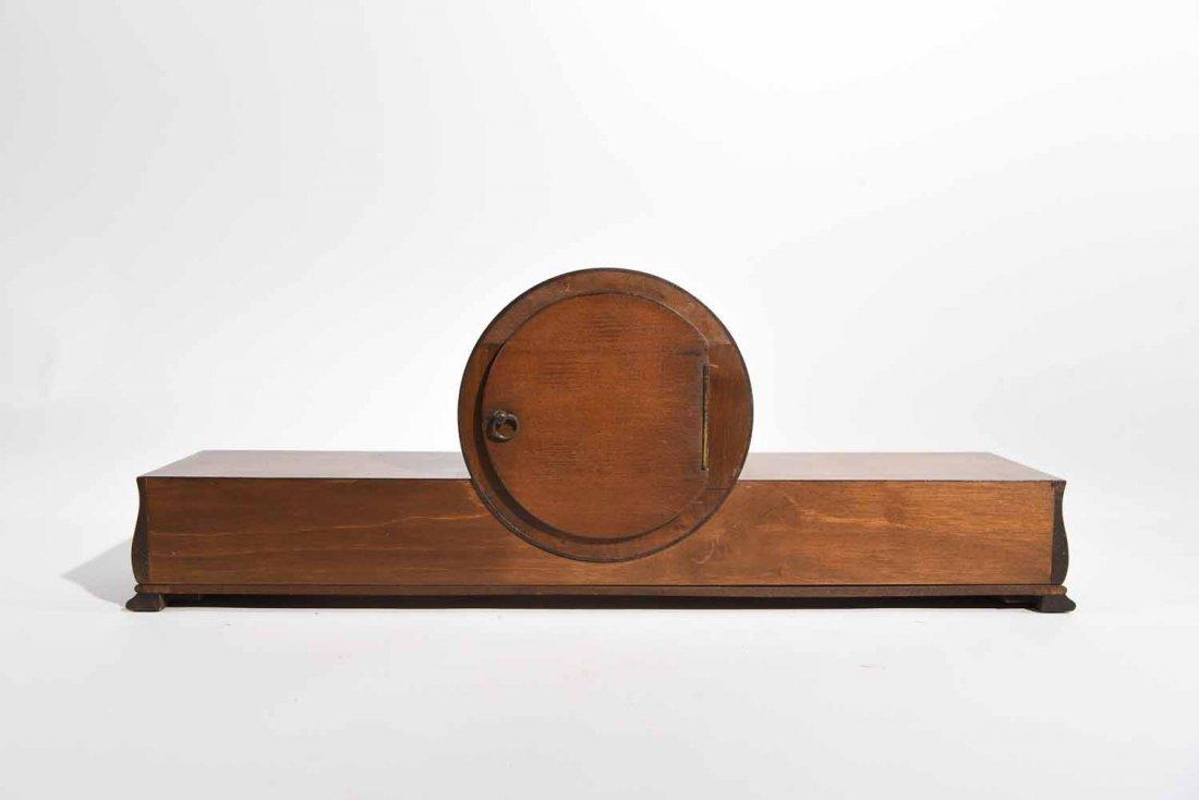 ART DECO MANTLE CLOCK - 7