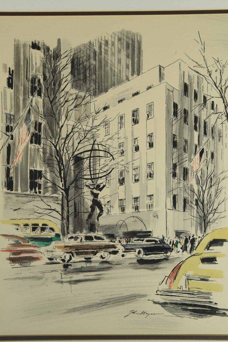 JOHN HAYMSON (AMERICAN 1903-1980) - 3