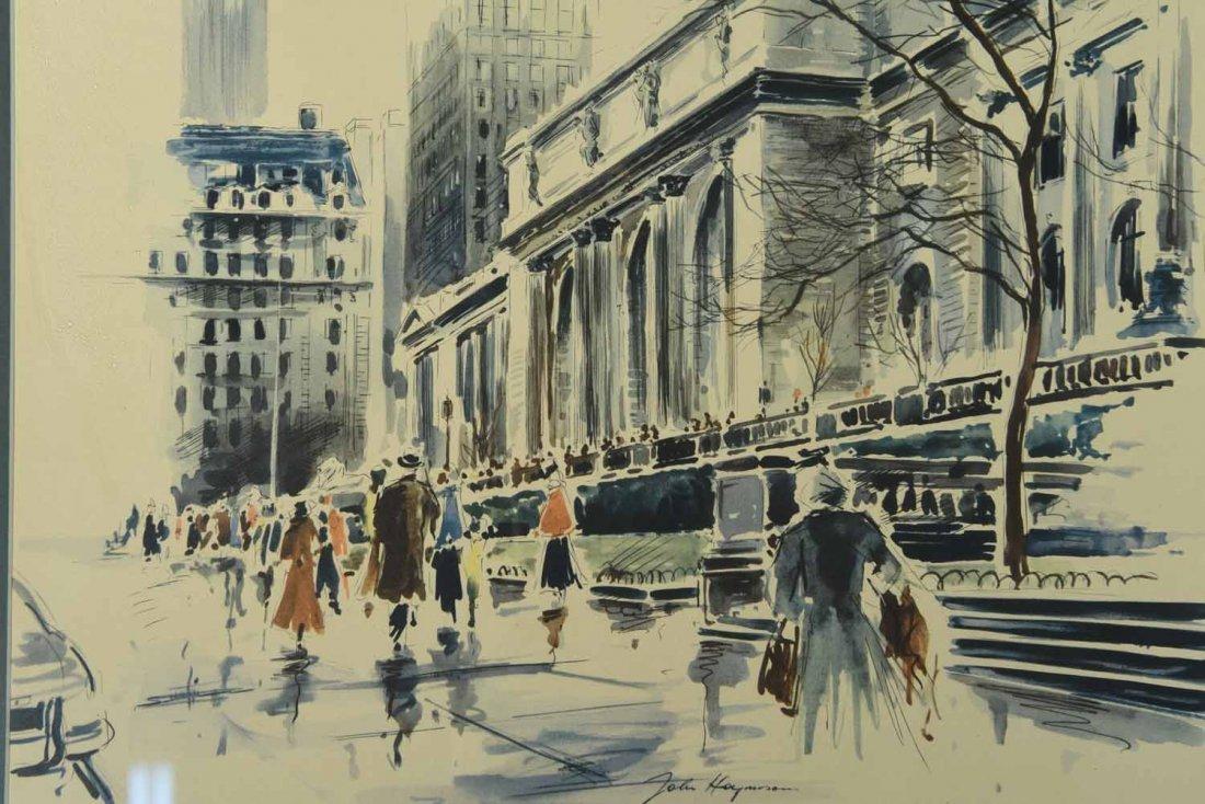 JOHN HAYMSON (AMERICAN 1903-1980) - 9