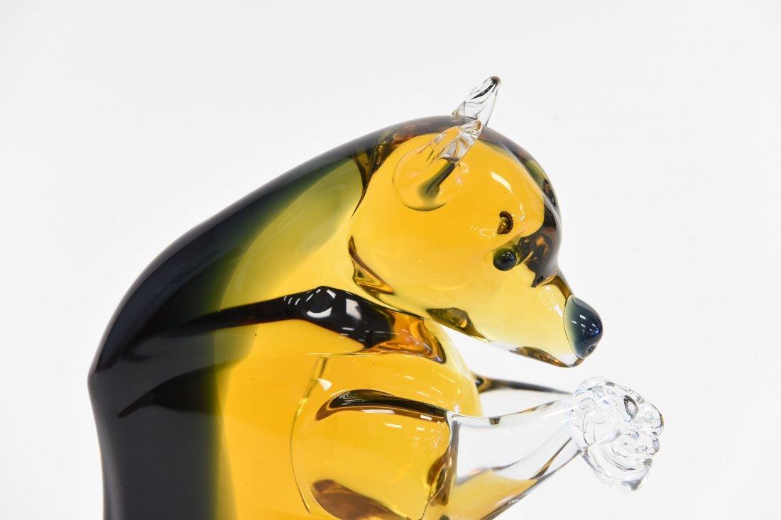 MURANO GLASS BEAR - 2