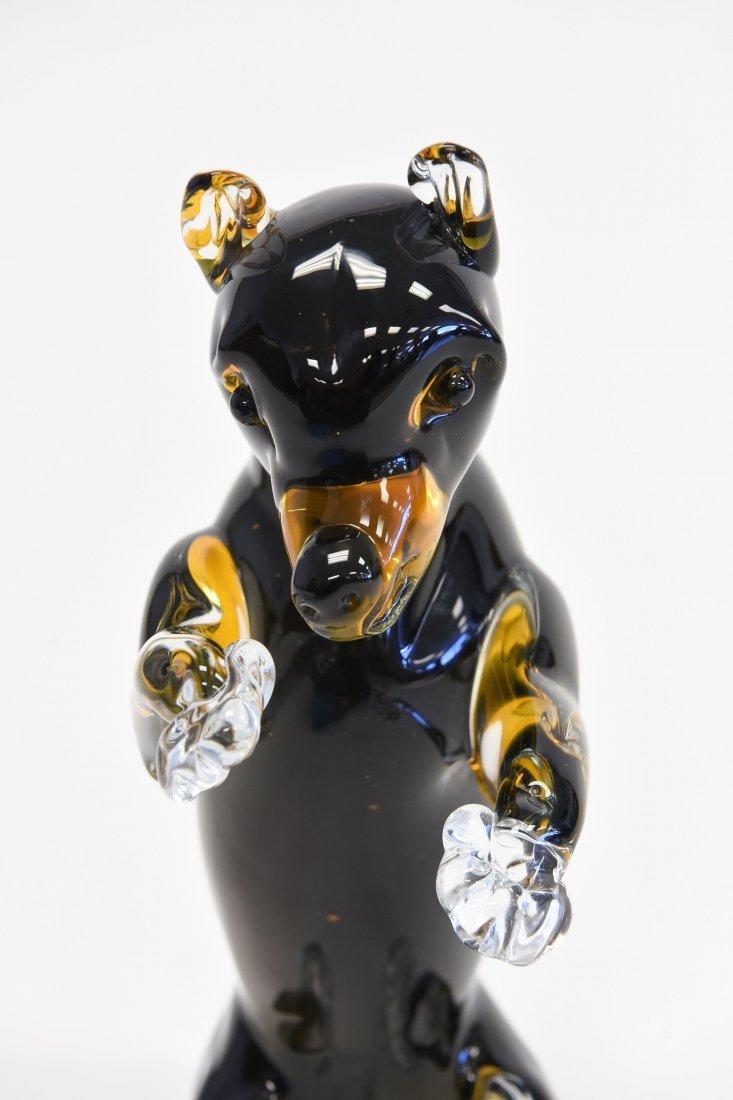 MURANO GLASS BEAR - 4