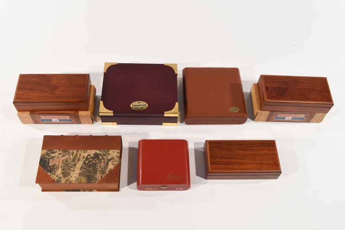CONTEMPORARY CIGAR HUMIDORS