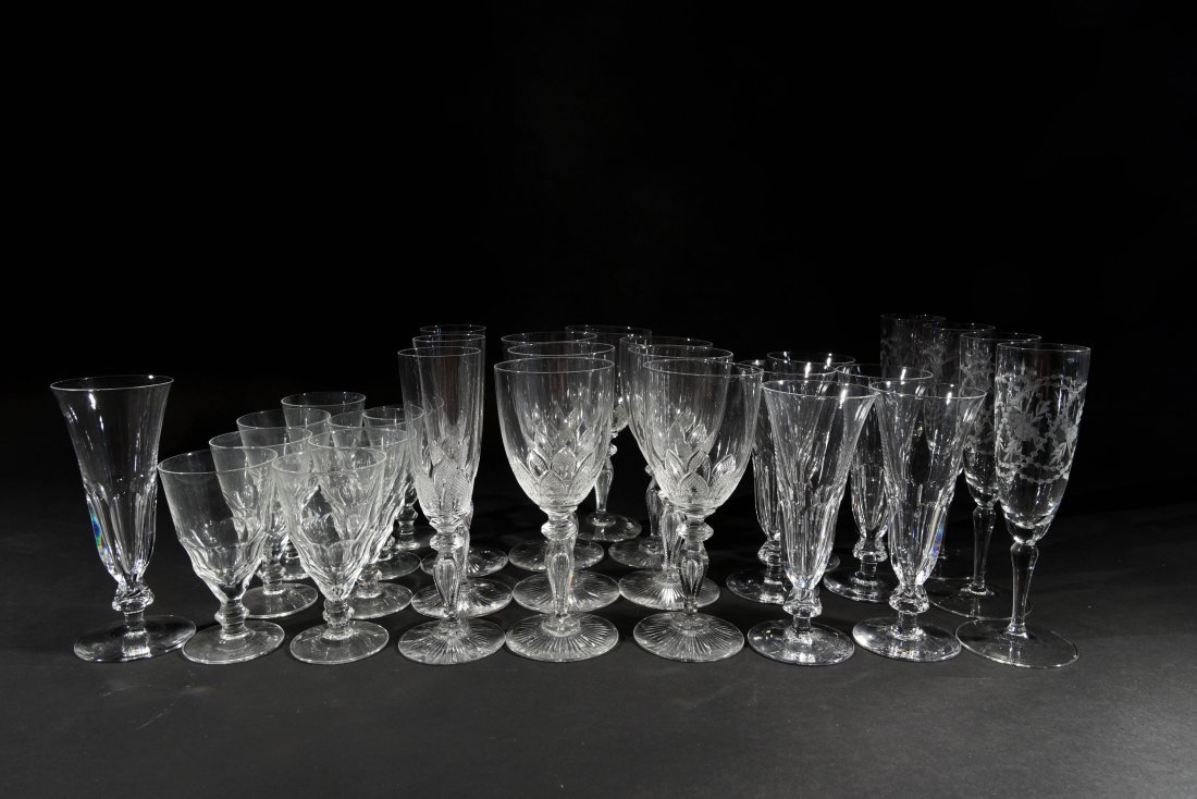 VICTORIAN CRYSTAL GLASSES