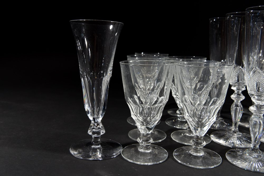 VICTORIAN CRYSTAL GLASSES - 2