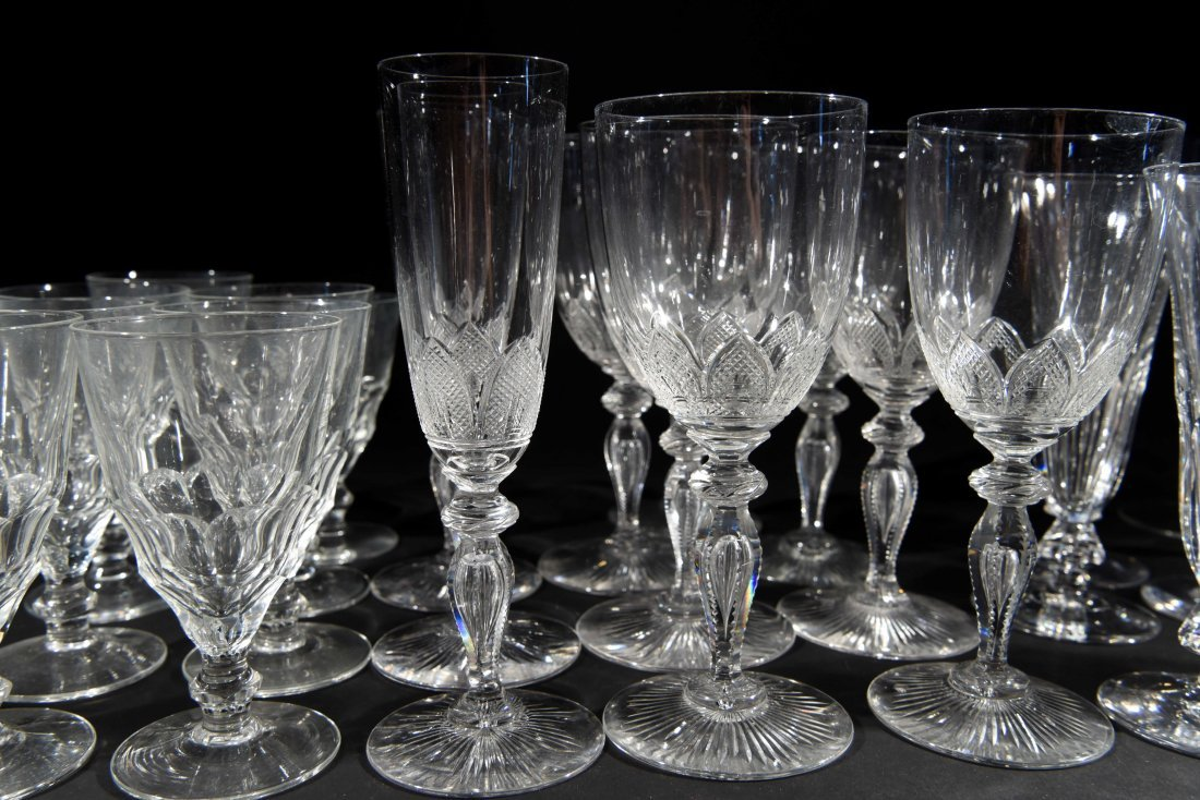 VICTORIAN CRYSTAL GLASSES - 3
