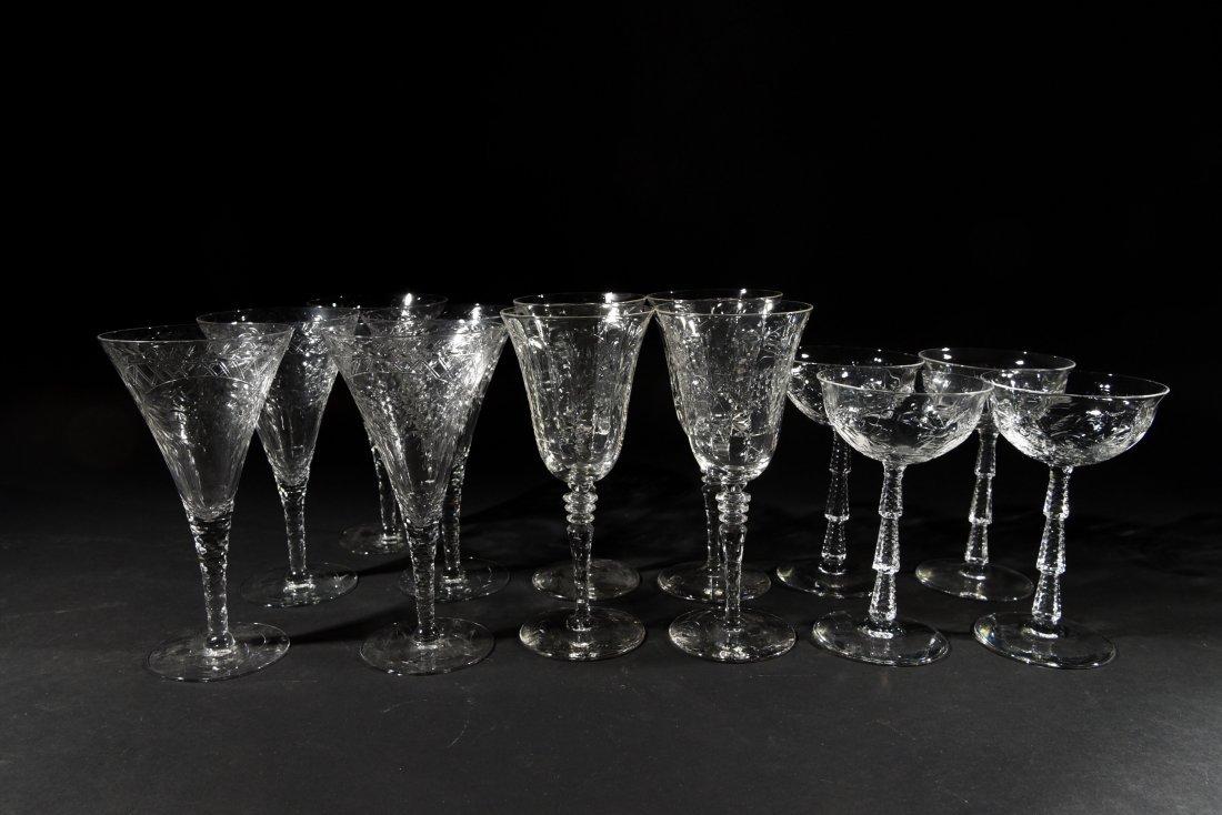 AMERICAN CRYSTAL GLASSES