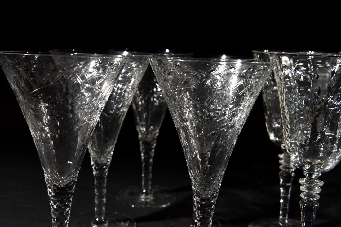 AMERICAN CRYSTAL GLASSES - 2