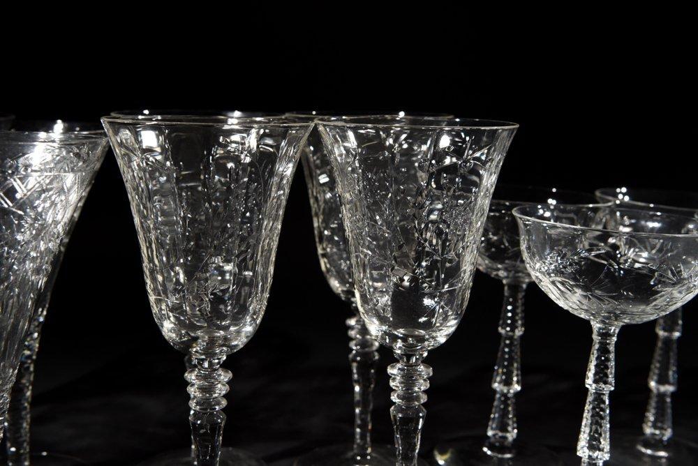 AMERICAN CRYSTAL GLASSES - 3
