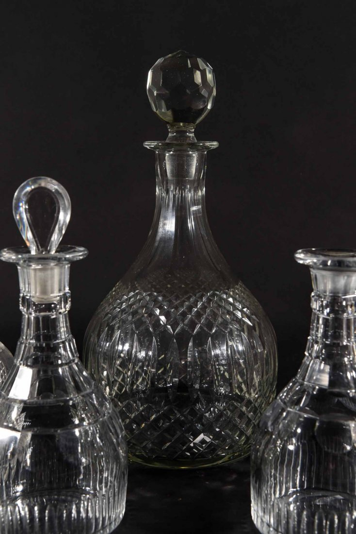 19TH CENTURY ENGLISH DECANTERS - 3