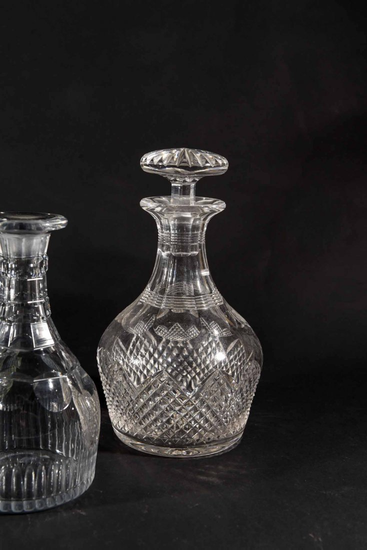 19TH CENTURY ENGLISH DECANTERS - 5