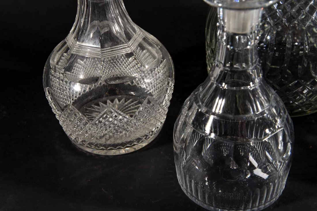 19TH CENTURY ENGLISH DECANTERS - 7