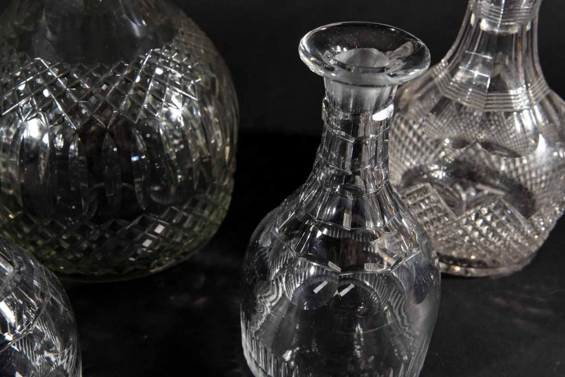 19TH CENTURY ENGLISH DECANTERS - 8