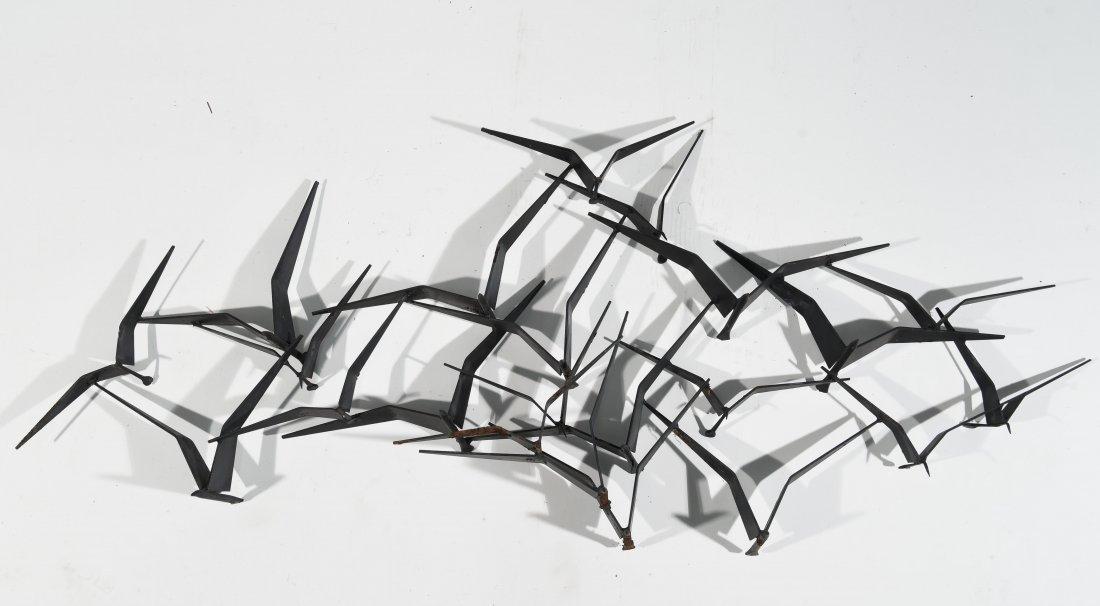 C. JERE BIRDS WALL SCULPTURE