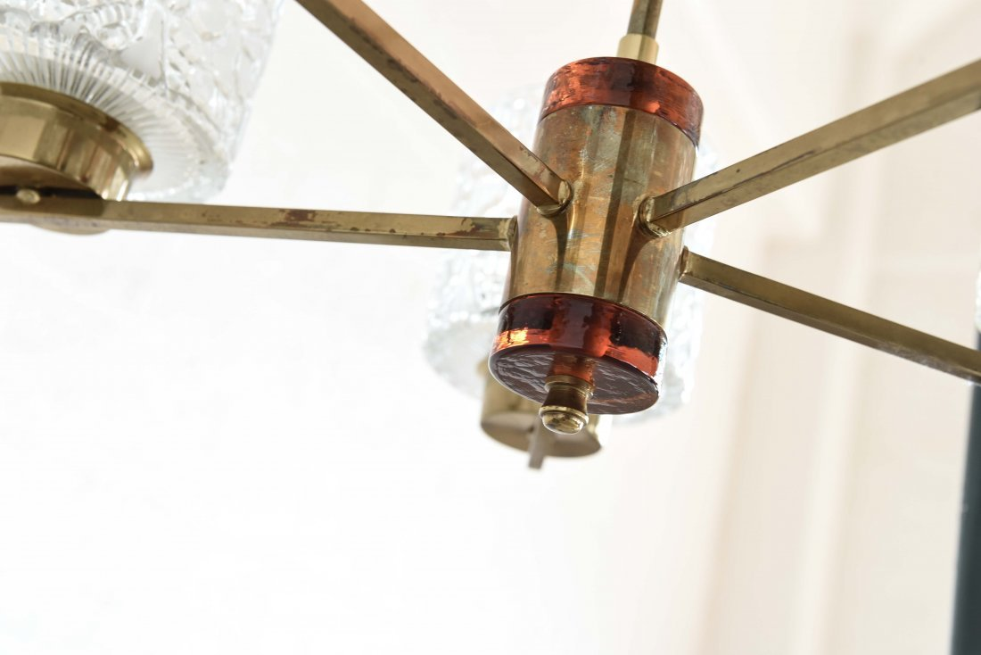 CARL FAGERLUND FOR ORREFORS CHANDELIER - 8